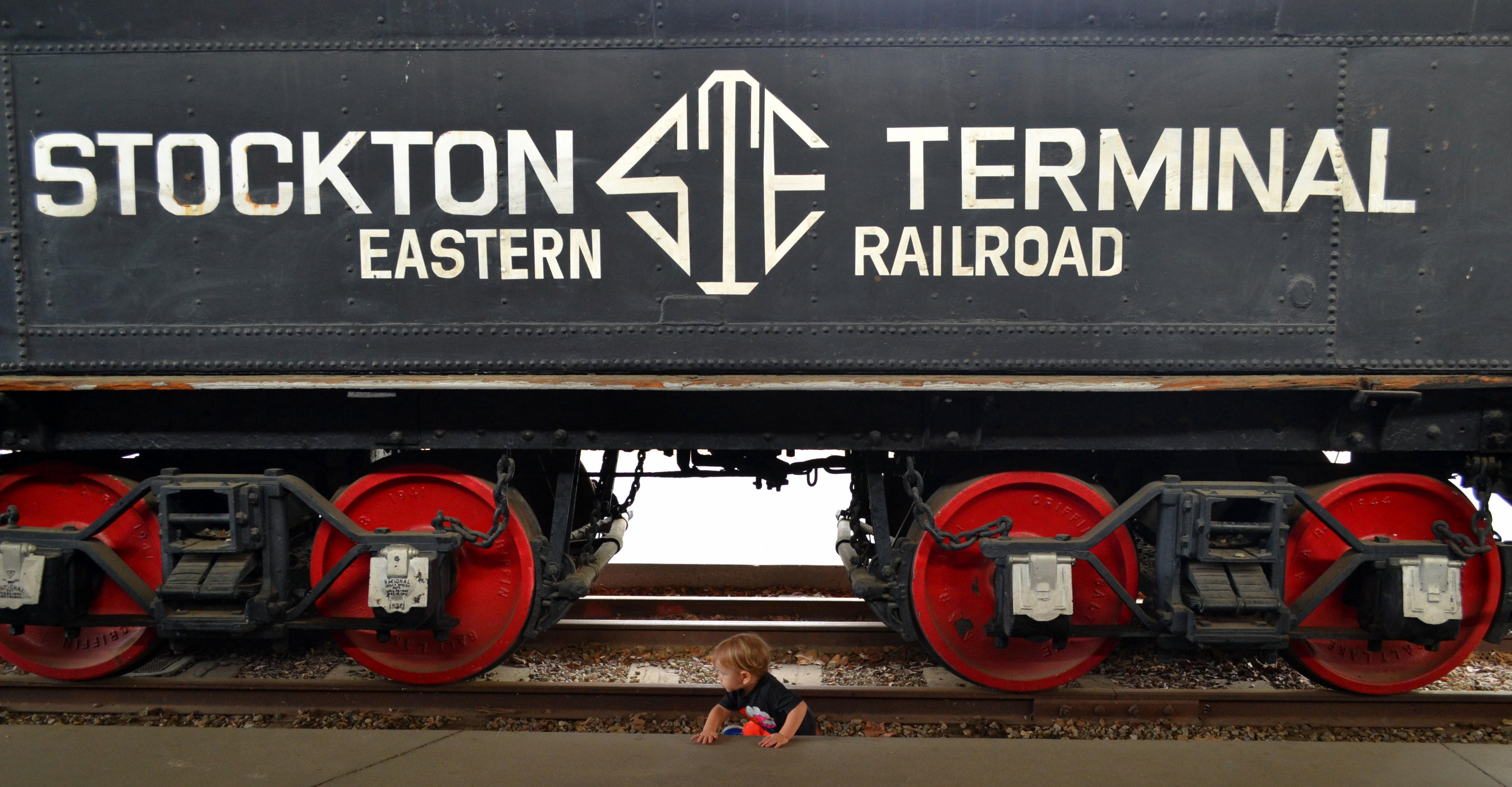 Lincoln checked out some old trains...