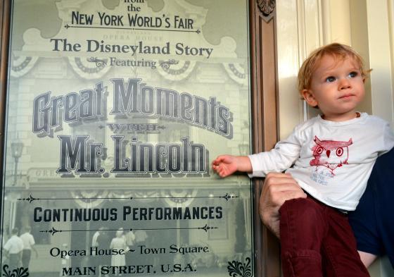 And, at Disneyland...